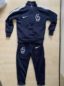 Nike frankreich fußball nationalmannschaft Kinder Anzug Jacke Hose Training