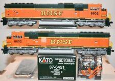 BNSF 8802 SD70MAC Heritage II Scheme  Kato HO  37-6451 F26.8