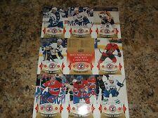 2014-15 UPPER DECK National Hockey Card Day UNCUT SHEET CANADA