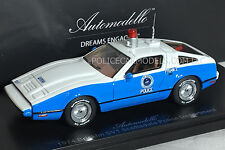 Automodello 1/43 1974 Bricklin SV1 Scottsdale Police Dept LIMITED EDITION OF 150