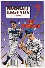Joe DiMaggio 1992 Baseball Legends Comics - Comic Book #5 New York Yankees