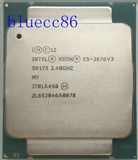 Intel Xeon E5-2676 V3 2.4GHz 30MB OEM SR1Y5 12-Core LGA2011-v3 CPU Processors
