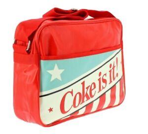 Coca-Cola 'Coke Is It!' Messenger Bag. BNWT