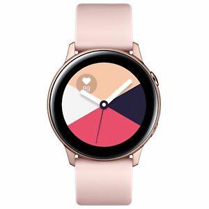Samsung Galaxy Smart Watch Tracker SAMOLED Touchscreen GPS Heart Rate Rose Gold