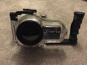 JVC Everio HD Camcorder and Underwater Housing / Marine Case