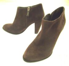 Women's Elizabeth And James Brown Suede Ankle Boots Size 6.5B