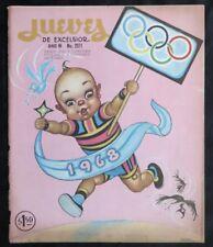 ART BY ERNESTO GARCIA CABRAL Jueves de Excelsior Magazine COVER 1968