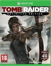 Xbox One Tomb Raider Definitive Edition Brand New Sealed Game