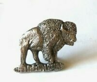 1980 designed replica of the BUFFALO on the old NICKLE silver-like metal badge