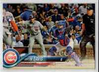 2018 Topps Update Taylor Davis RC #US229 Chicago Cubs