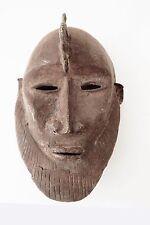 Superb African Dogon Bronze Mask Mali