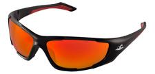 Bullhead Javelin Black Frame Red Mirror Lens Safety Sun Glasses Ballistic Rated
