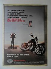 2010 Print Ad Harley Davidson SuperLow Motorcycle ~ Maybe There's a Better One