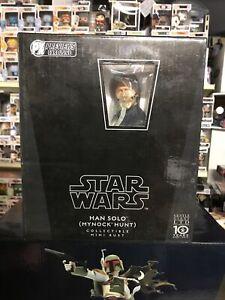 Star Wars Previews Exclusive Han Solo Mynok Hunt Mini Bust