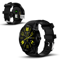 3G SmartWatch by Indigi, 44mm, Android Only, DualCore & 512mb RAM, GPS & WiFi