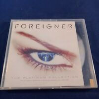 CD Foreigner The Platinum Collection Featuring Bonus Tracks From Lou Gramm