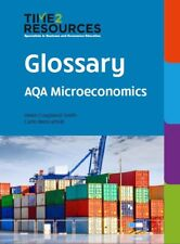 AQA GCE Economics Glossary book for Microeconomics