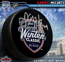 Darren McCarty Signed Detroit Red Wings Winter Classic 2014 Souvenir Puck