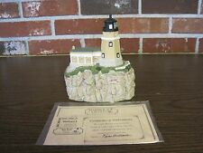 1995 Harbour Lights Lighthouse #412 Split Rock, Minnesota-Comm. Stamp Series