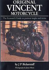 THE ORIGINAL VINCENT MOTORCYCLE Motorbike Book jm