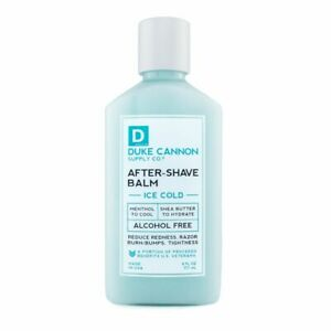 Duke Cannon Cooling After-Shave Balm 6 oz