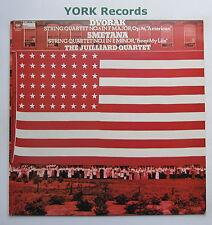 61615 - DVORAK / SMETENA - String Quartets THE JUILLIARD QUARTET - Ex LP Record