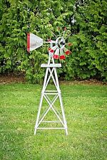 4foot Tall Aluminum Windmill Amish Crafted , High Quality , will NOT rust
