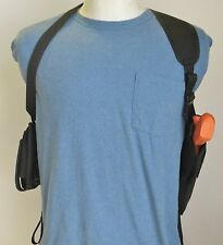 Shoulder Holster for DESERT EAGLE MRI BABY EAGLE with SNGL POUCH VERTICAL CARRY