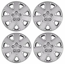 "2001-2003 DODGE STRATUS 15"" Hubcaps Wheelcover Chrome/Silver NEW SET of 4"