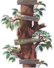 Apple Tree Ladder Trunk Kids Room Wallpaper Border Mural BS7706B