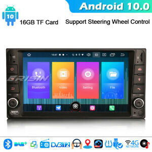 Android 10 Car Stereo GPS Sat Nav For TOYOTA COROLLA EX RAV4 VIOS HILUX CarPlay