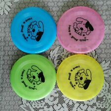 "1PCS Dog Frisbee Flying Disc Dog Toy Doggy Fetch Toys Fun Excercise 7.8"" Doy Toy"