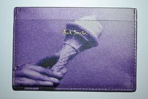 Paul Smith Violet Ice Cream Photo Credit Card Holder NEW