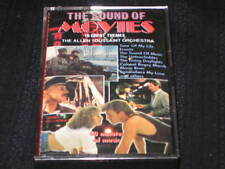 THE SOUND OF MOVIES THEMES MOON RIVER EDELWEISS LIVING DAYLIGHTS CASSETTE TAPE