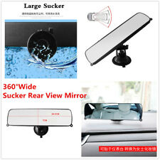1Pc 360° Wide Angle TPU Big Sucker Rear View Mirror For Car Interior Accessories