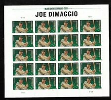 Us Scott 4697 Joe Dimaggio Sheet of 20 Forever Stamps Mnh Sa Vf