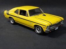 GMP 1968 Chevy Nova Yenko Deuce LT/1 Yellow 1:18 Scale Diecast Model Car Limited