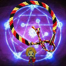 Fullmetal Alchemist Friendship Bracelet with Edward Elric charm Full Metal