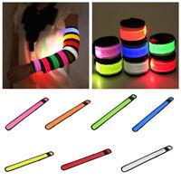 HOT LED Flashing Light Up Glow Bracelet Wristband Vocal Concert Props Gift Prec