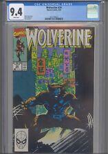 Wolverine #24 CGC 9.4 1990 Marvel Comics Jim Lee Cover: New Frame