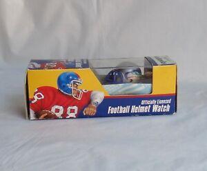 NFL Seattle Seahawks Football Helmet Watch New by Fremark Inc. 1980's