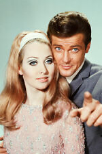 Roger Moore and girl The Saint 11x17 Mini Poster