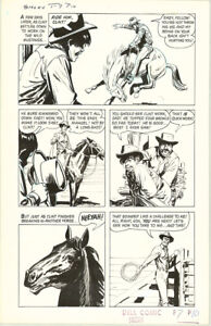 JACK SPARLING DELL MOVIE CLASSICS SMOKY P. 10 ORIGINAL ART!