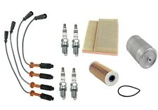 For Mercedes W202 C220 Tune Up Kit Bosch Wire Set NGK Spark Plug Mahle Filters