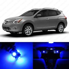 9 x Blue LED Interior Light Package For 2008 - 2013 Nissan Rogue + PRY TOOL