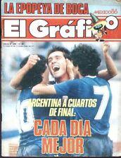 SOCCER WORLD CUP 1986 ARGENTINA vs URUGUAY SPECIAL Magazine