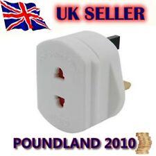 2 Pin de la UE Socket A 3 Pin del Reino Unido Adaptador Afeitadora cepillo de dientes nuevo.