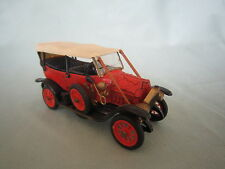 DV2773 RIO FIAT MODELE ZERO 1912 N° 6 ROUGE  METAL FATIGUE 1/43 MADE IN ITALY