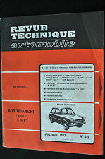 Revue technique automobile Autobianchi A112 n° 315