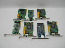 Lot of 7 Miscellaneous Network Cards #00348
